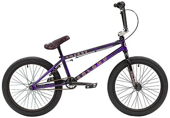 "Colony Emerge 20"" 2021 Freestyle BMX Cykel Färg: Purple Storm"