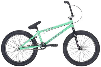 "Academy Trooper 20"" 2021 Freestyle BMX Cykel Färg: Mint/Polished"