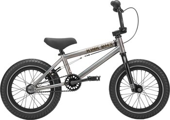 "Kink Pump 14"" 2021 Freestyle BMX Cykel Färg: Matte Digital Charcoal"
