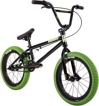 "Stolen Agent 16"" 2021 Freestyle BMX Cykel Färg: Svart"