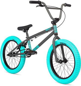 """Stolen Agent 18"""" 2020 Freestyle BMX Cykel Färg: Matte Raw"""