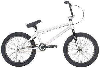 "Academy Inspire 18"" 2021 Freestyle BMX Cykel Färg: Silver/Black"