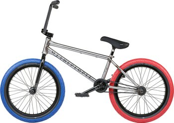 "Wethepeople Battleship 20"" 2021Freestyle BMX Cykel Färg: Glossy Raw"