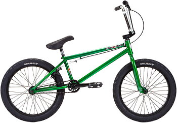 "Stolen Heist 20"" 2021 Freestyle BMX Cykel Färg: Chrome Green"