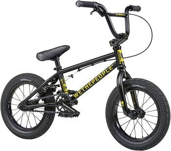"""Wethepeople Riot 14"""" 2021 BMX Cykel För Barn Färg: Matt Black"""