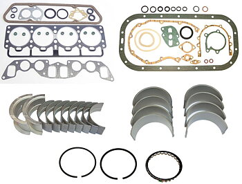 Restoration kit Volvo B20A gaskets bearings rings -1973