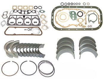 Restoration kit Volvo B18 gaskets bearings rings