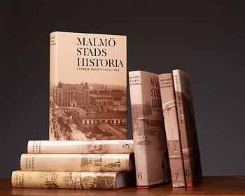 Malmö stads historia, band 2-8