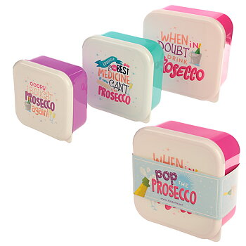 Lunchbox (3st), prosecco