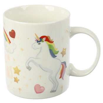 Mugg, Life is all unicorns and rainbows