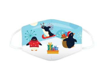 Kangasmaski, joulupingviinit (pieni)