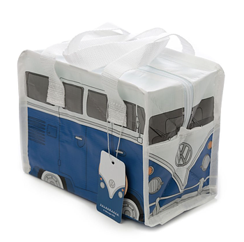 Lunchpåse, Blå Volkswagen VW gjord av återvunna plastflaskor