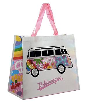 Väska, Volkswagen VW T1 Camper Bus Love (av återvunna plastflaskor)