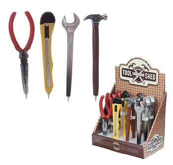 Bläckpenna i form av verktyg