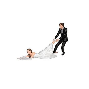 Tårtprydnad, reluctant bride