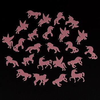 Självlysande enhörningar, rosa