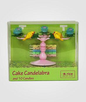 Tårtljus, kandelaber