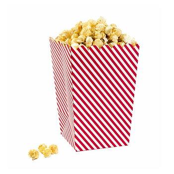 Popcorn-/godishållare (6 st), Red & White