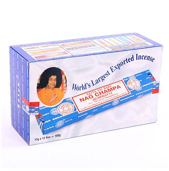 Rökelse, Nag Champa Satya Sininen 15 g