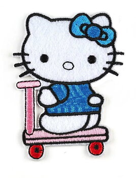 Tygmärke Hello Kitty, scoot