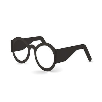 Seisova kortti, silmälasit
