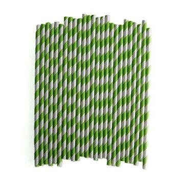 Sugrör (25st), Grön