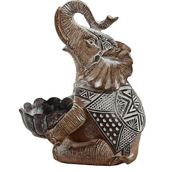 Värmeljushållare, Elefant