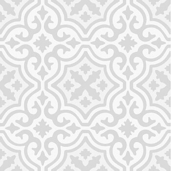 Kakeldekor, Marrakech II grå 6 st