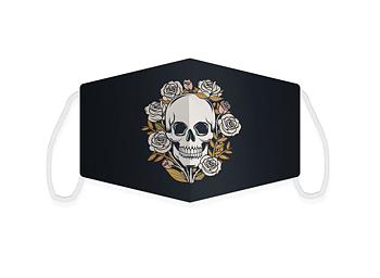 Tygmask, skull (stor)