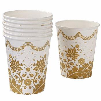 Pappersmuggar (12st), Party Porcelain