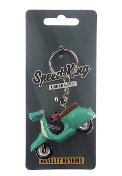 Nyckelring skoter, grön