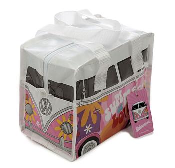 Lunchpåse, Rosa Volkswagen VW gjord av återvunna plastflaskor