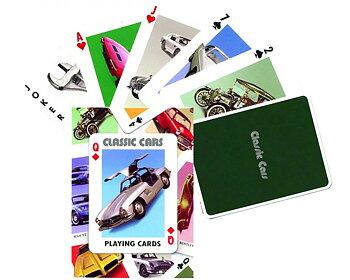 Kortspel, klassiska bilar