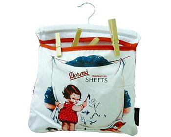 Påse för klädnypor,  Peg Bag/Dorma Sheets