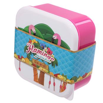 Lunchbox (3st), flamingo