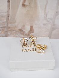 Maya CremeGold Combo Gold Jewelry Set