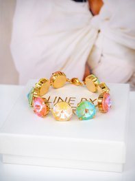 Bracelet Angelina Pastel combo Gold