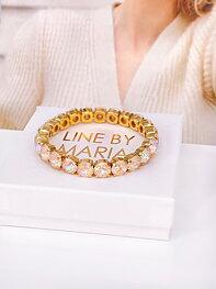 Armband Emma Ivory Creme DeLite Gold
