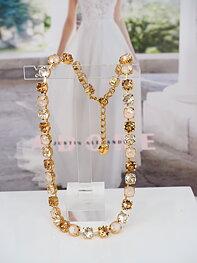 Necklace Swarovski Maya CremeGold Combo Gold