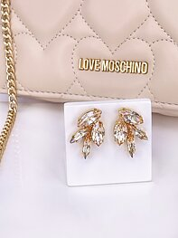 Earrings Lola Crystal Honey  Gold