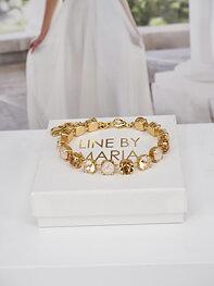 Bracelet Swarovski Maya CremeGold Combo Gold