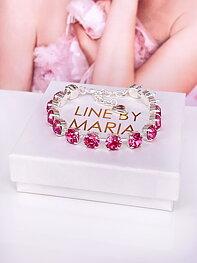 Bracelet Maya Rose Silver