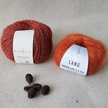 Mohair Luxe - Orange