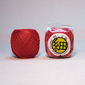 Thin Sashiko thread 212 - Red