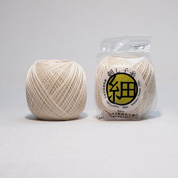 Thin Sashiko thread 202 - ivory