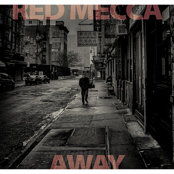 RED MECCA - AWAY ( LP) Clear red vinyl - signerad