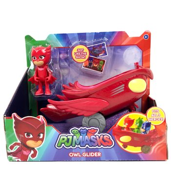 Pyjamashjältarna Owl Glider Playset - Owlette Ugglis