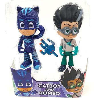 Pyjamashjältarna Catboy och Romeo Figurer