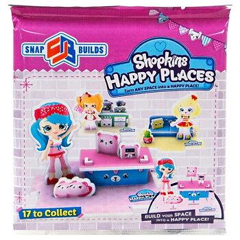 Shopkins Happy Places Snap Builds Pack