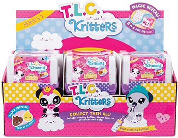 TLC Kritters Blind Box Överrasknings Djur